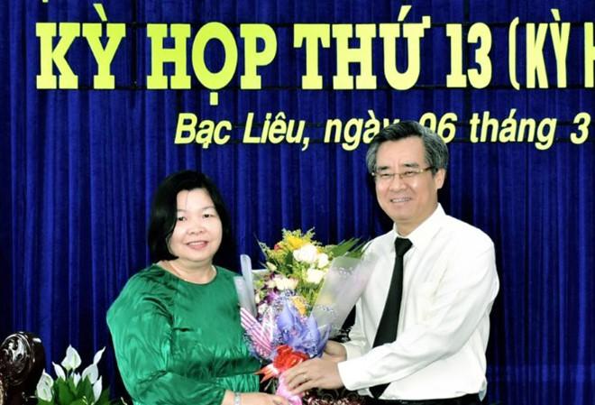 Phê chuẩn kết quả bầu nhân sự tại tỉnh Bạc Liêu