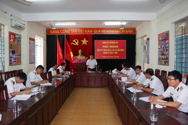 Lữ đoàn 161 tổng kết công tác kiểm tra, giám sát, kỷ luật Đảng