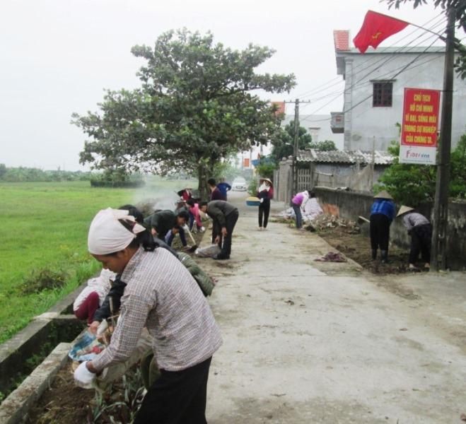 Hội Nông dân Vụ Bản Nam Định  Nhiều mô hình tự quản bảo vệ môi trường