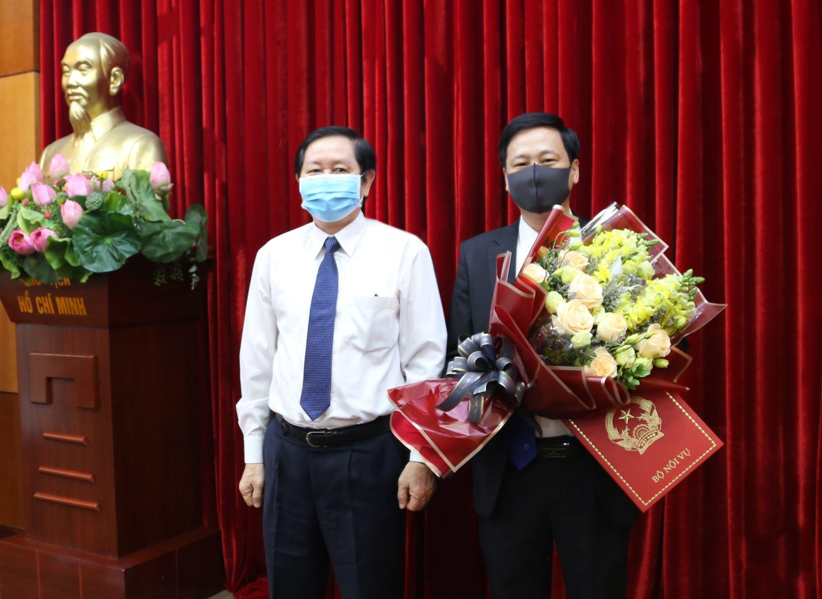 Trao Quyết định bổ nhiệm Phó trưởng ban Ban Thi đua – Khen thưởng TƯ