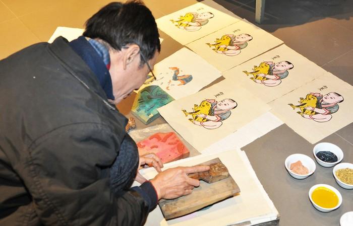 Đệ trình UNESCO ghi danh Nghề làm tranh dân gian Đông Hồ