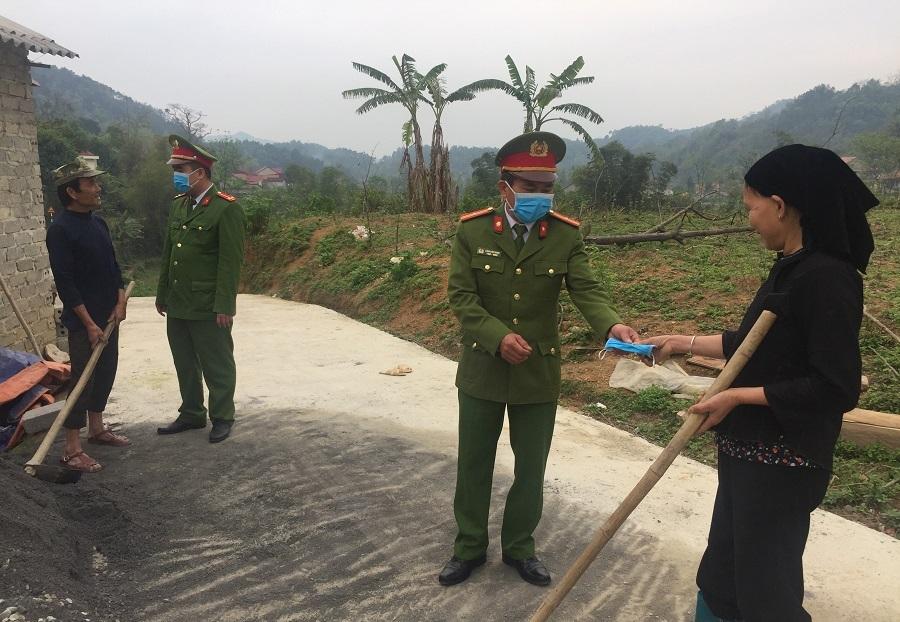 Khen ngợi lực lượng CAND trong phòng chống COVID-19