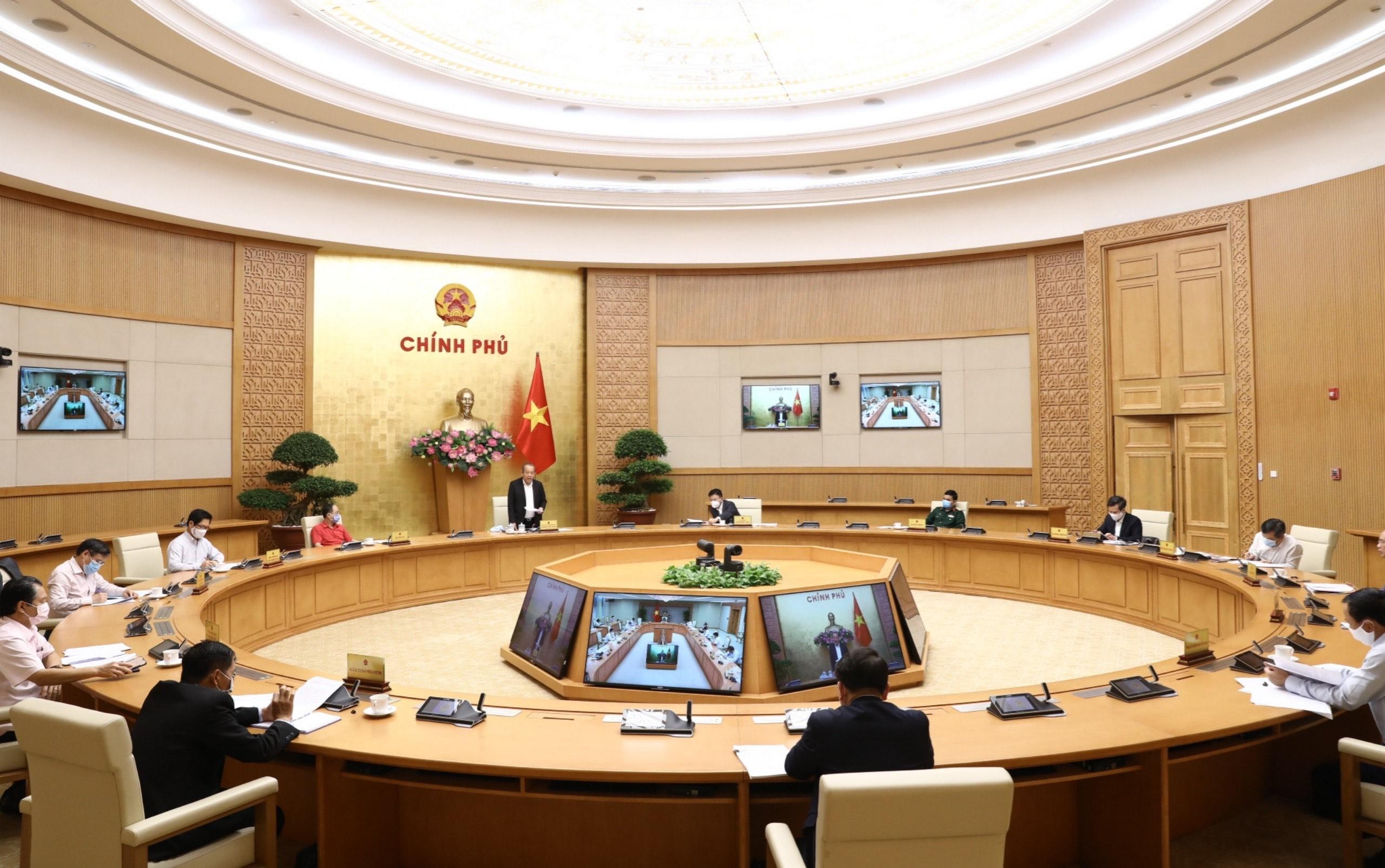Tổ công tác của Thủ tướng Chính phủ rà soát văn bản quy phạm pháp luật