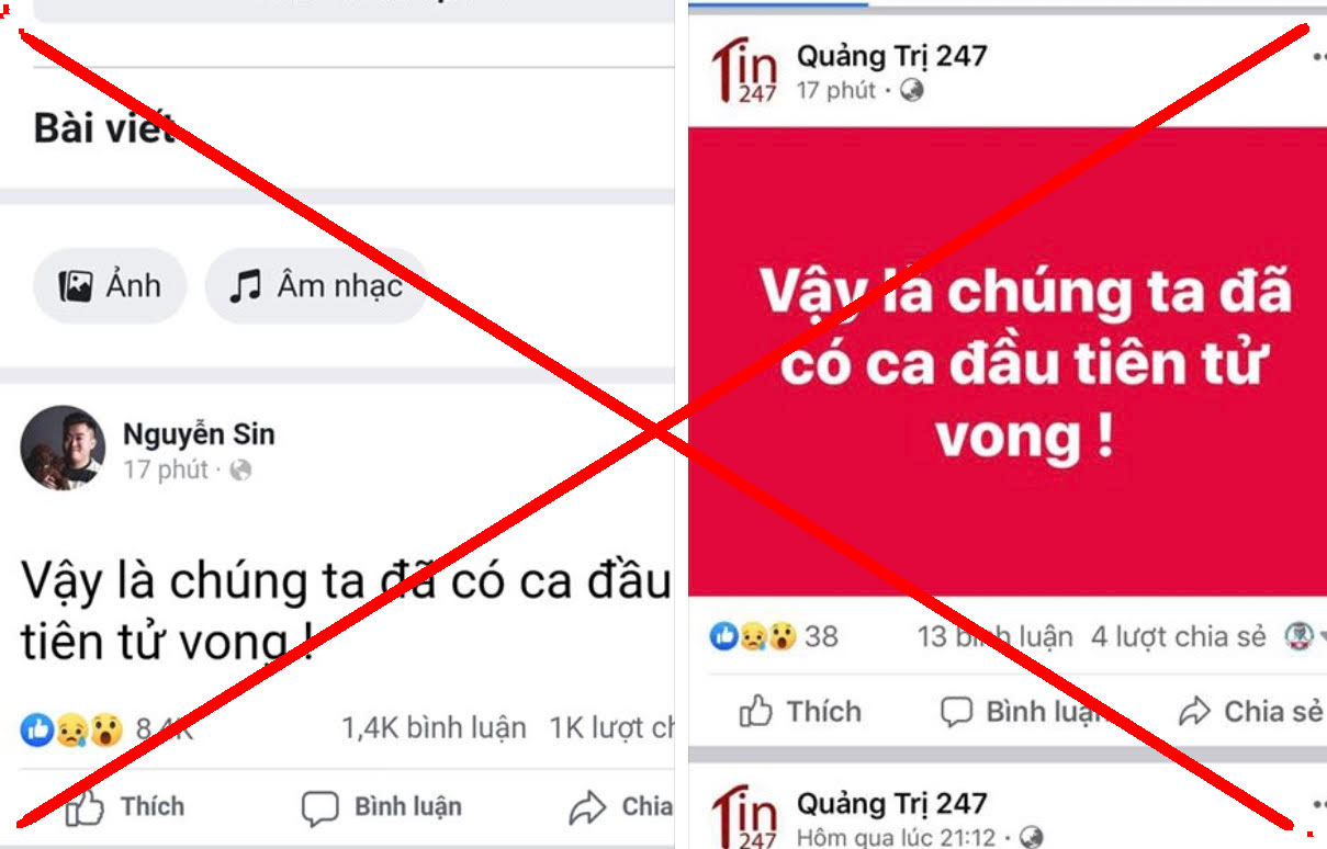 Bộ Y tế Việt Nam chưa có trường hợp bệnh nhân COVID-19 nào tử vong