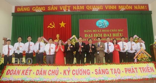 Bình Định Huyện ủy Hoài Nhơn hoàn thành đại hội các chi bộ, đảng bộ cơ sở