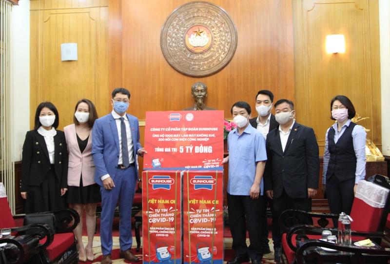 Doanh nghiệp Hà Nội chung tay ủng hộ phòng, chống dịch COVID-19