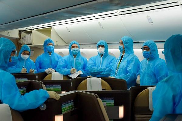 Chuyến bay đưa công dân châu Âu về nước