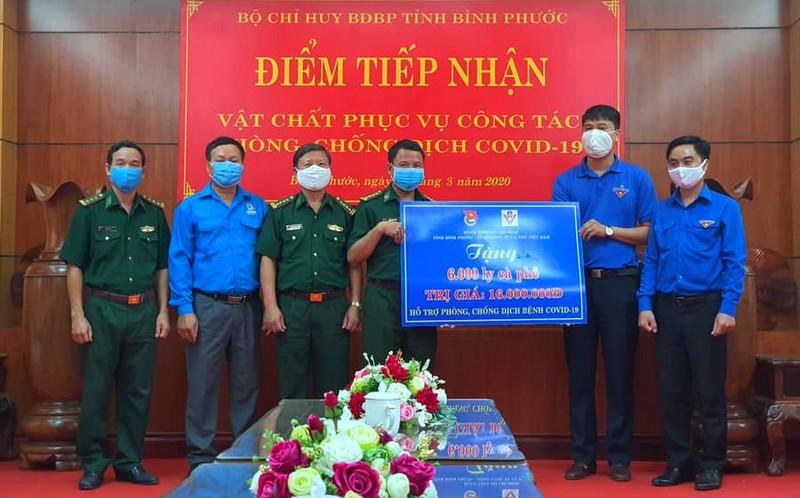 Ủng hộ 250 triệu đồng phòng, chống dịch bệnh COVID-19 tại Bình Phước
