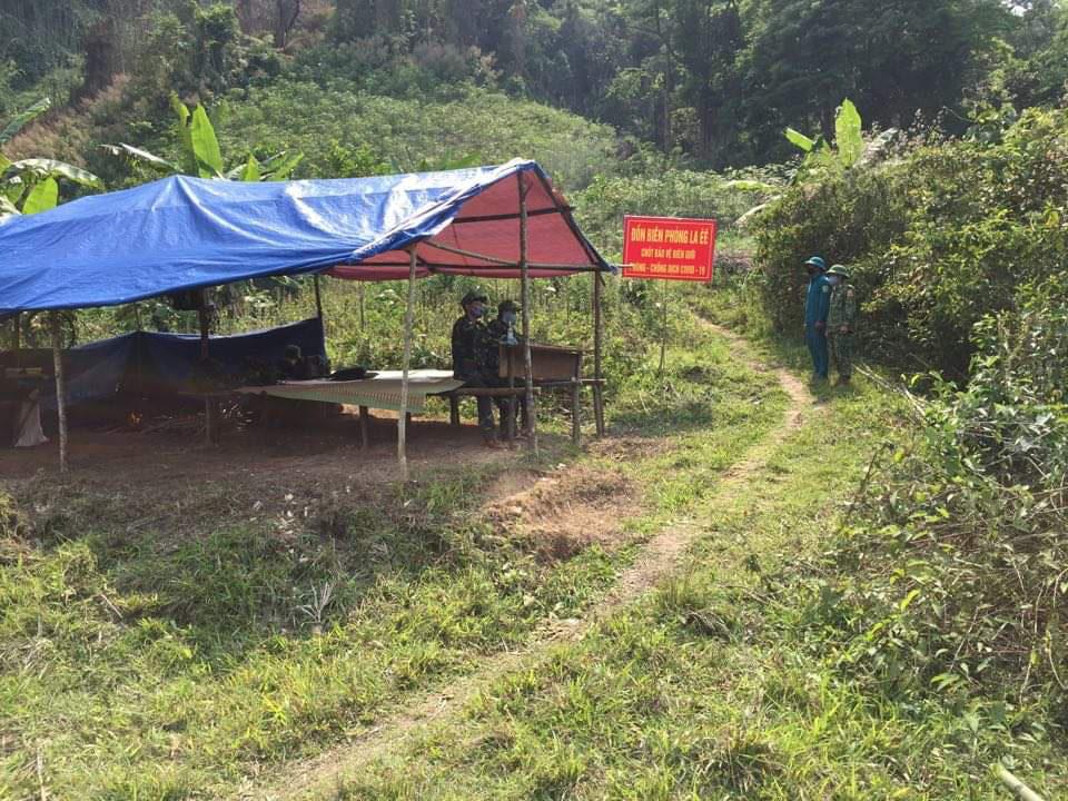 Quảng Nam thành lập 8 chốt kiểm soát, phòng chống dịch bệnh COVID-19