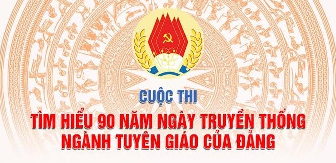 Khơi dậy niềm tự hào về 90 năm Ngày truyền thống ngành Tuyên giáo của Đảng