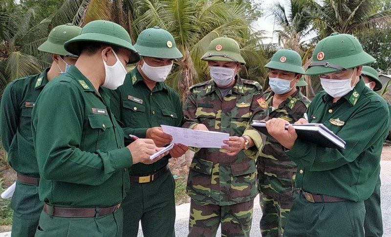 Bộ đội Biên phòng Việt Nam - Campuchia tích cực phòng, chống dịch bệnh