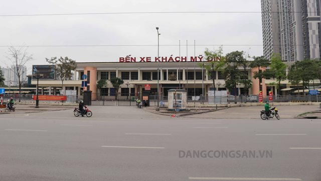 Hà Nội: Các bến xe nghiêm túc thực hiện Chỉ thị 16/CT-TTg