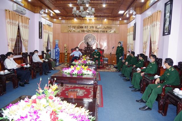 Chủ tịch UBND tỉnh Nghệ An kiểm tra công tác phòng, chống dịch COVID-19