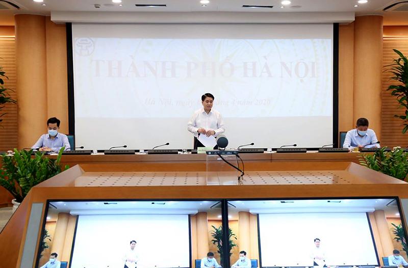 Hà Nội Tuyệt đối không để dịch chồng dịch