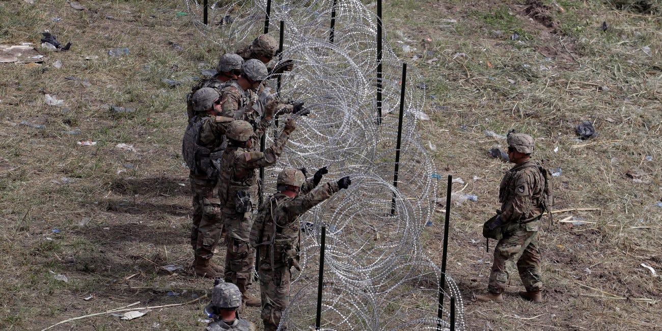 Mỹ có kế hoạch bổ sung 500 binh sỹ tới biên giới với Mexico
