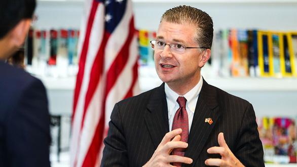 Đại sứ Mỹ Daniel Kritenbrink Chính phủ Việt Nam đã rất xuất sắc khi đương đầu với đại dịch COVID-19