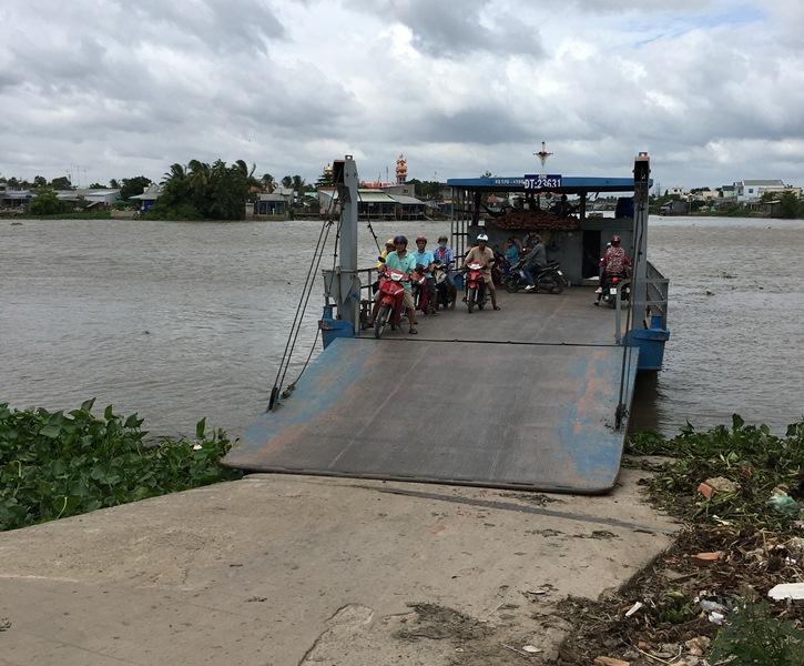 Cần Thơ Bến khách ngang sông được phép hoạt động