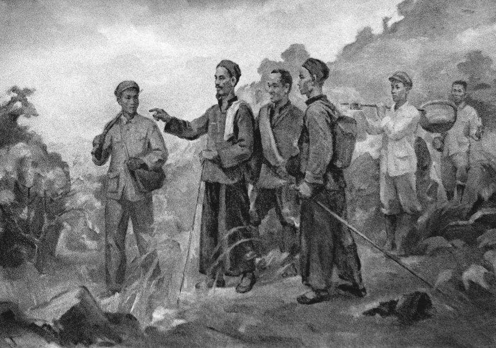Đồng chí Nguyễn Ái Quốc những ngày đầu về nước
