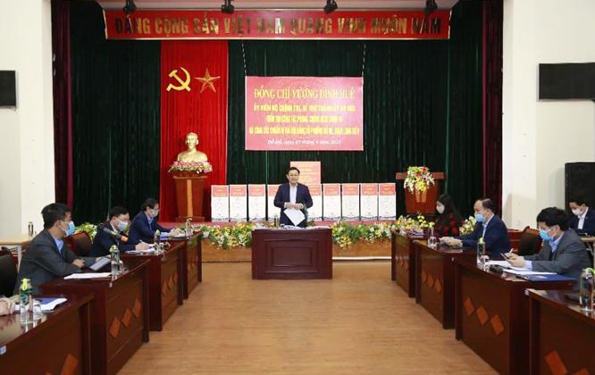 Bí thư Thành ủy Hà Nội Phòng, chống dịch bệnh thì không một ai được đứng ngoài cuộc