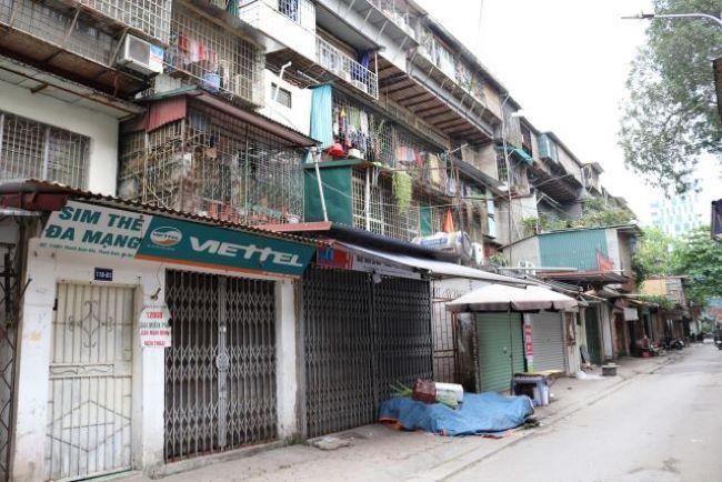 Giao dịch căn hộ chung cư, tập thể cũ Cẩn trọng không thừa