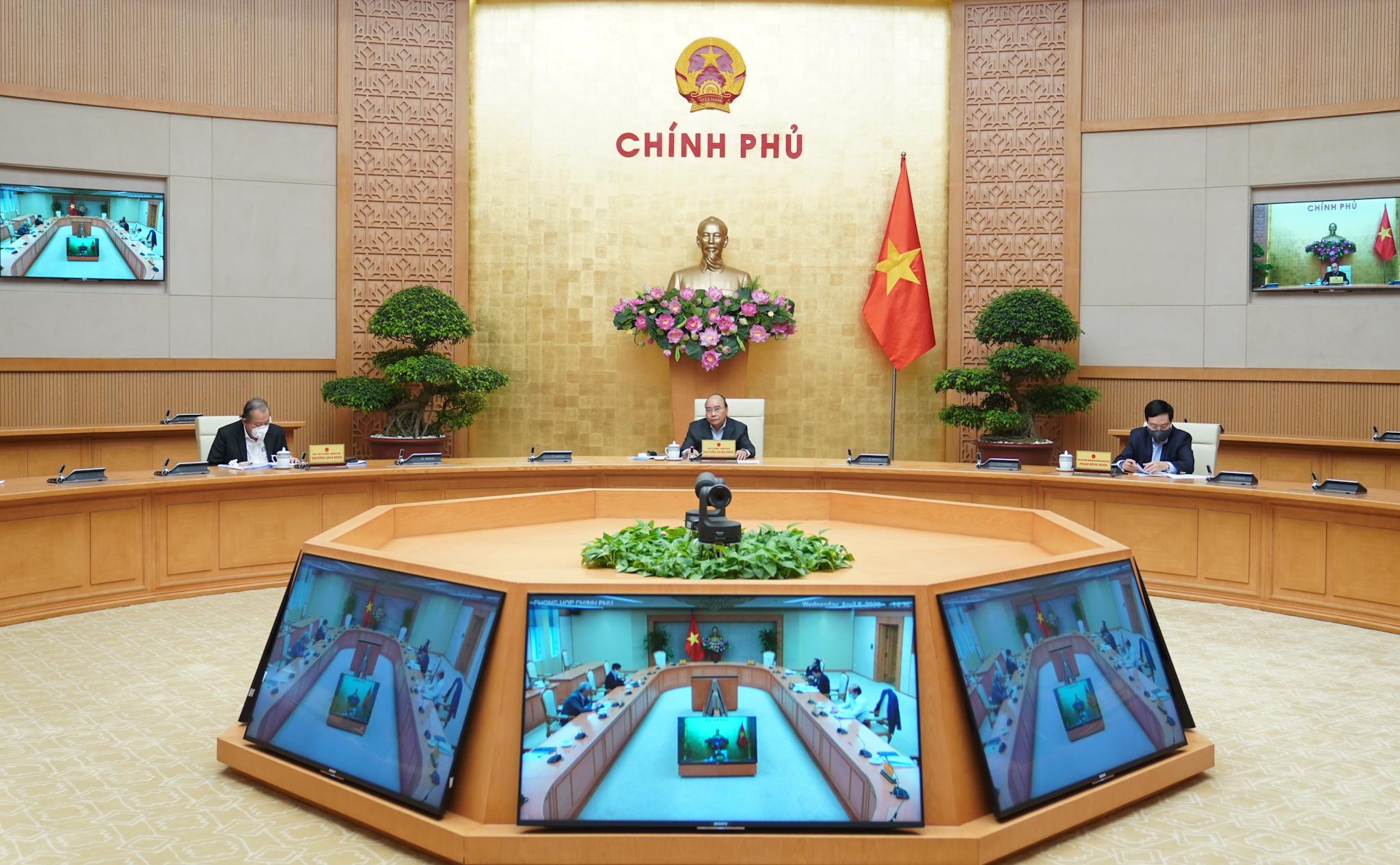 """Chuẩn bị nội dung Hội nghị trực tuyến """"4 trong 1"""" của Chính phủ với các địa phương"""