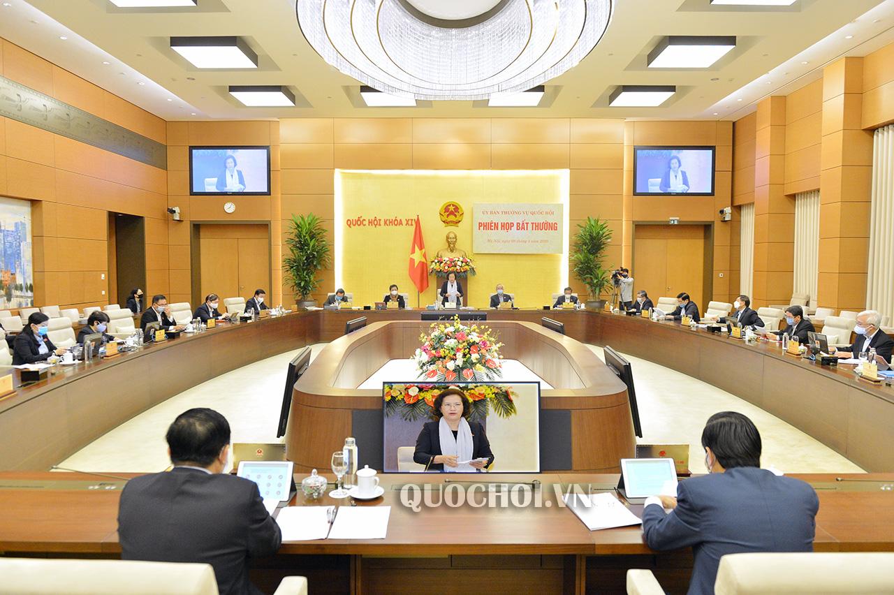 Ủy ban Thường vụ Quốc hội nhất trí với đề xuất gói hỗ trợ an sinh 62 000 tỷ đồng