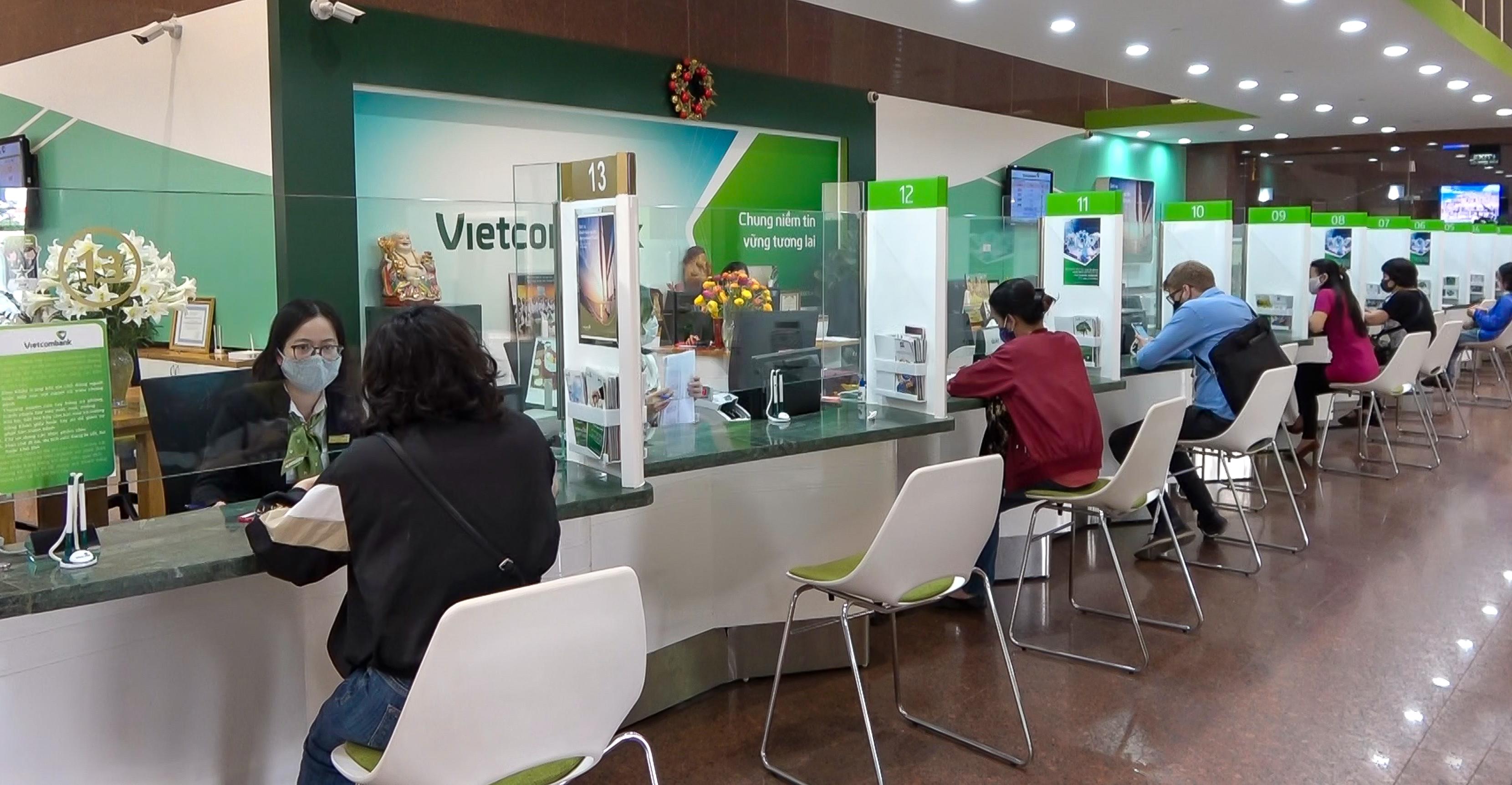 Vietcombank đảm bảo duy trì hoạt động liên tục phục vụ khách hàng