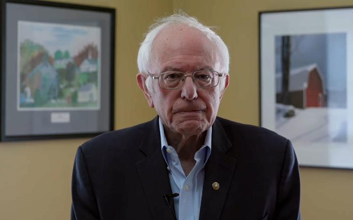 Bầu cử Mỹ 2020 Ứng cử viên Bernie Sanders rút lui khỏi cuộc đua