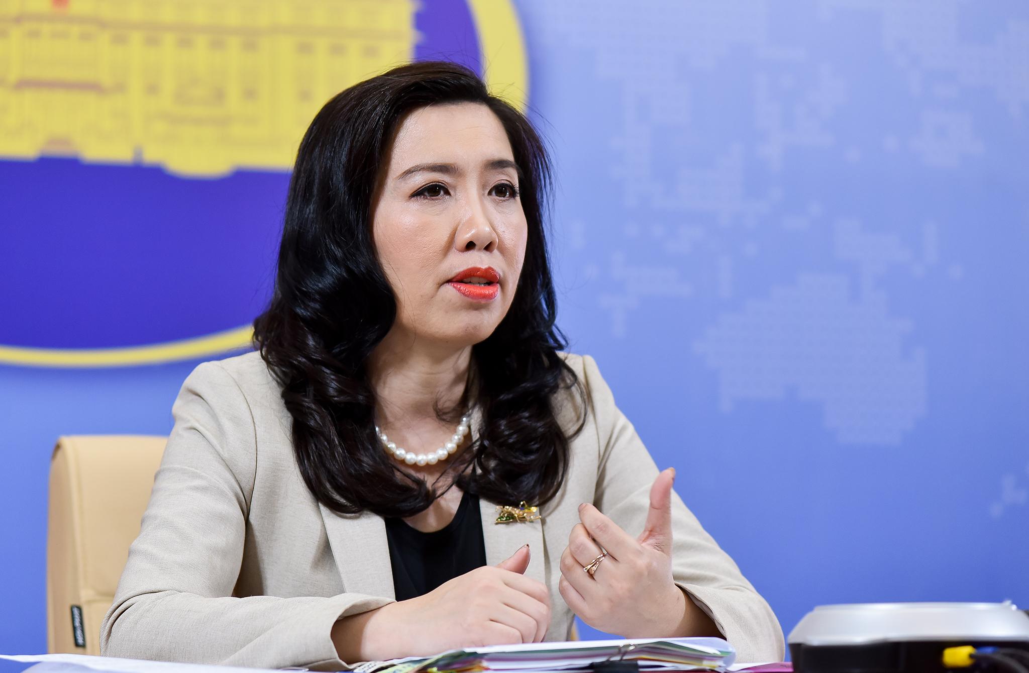 Việt Nam khẳng định chủ quyền với quần đảo Hoàng Sa và Trường Sa