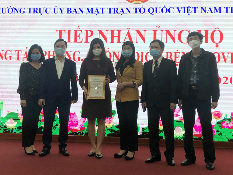 Hà Nội Gần 29 tỷ đồng ủng hộ công tác phòng, chống dịch COVID-19