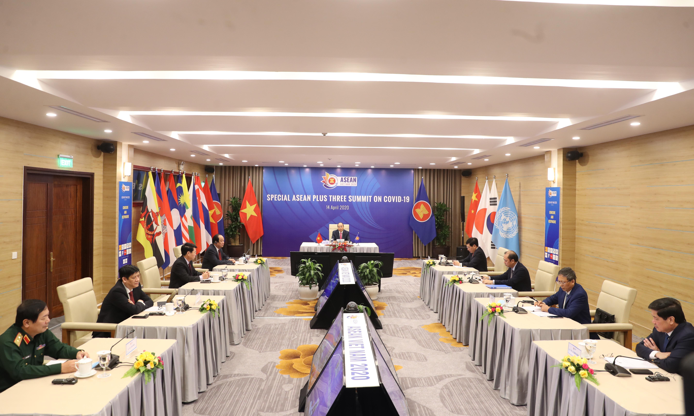 Hội nghị Cấp cao Đặc biệt ASEAN+3 về ứng phó với dịch bệnh COVID-19