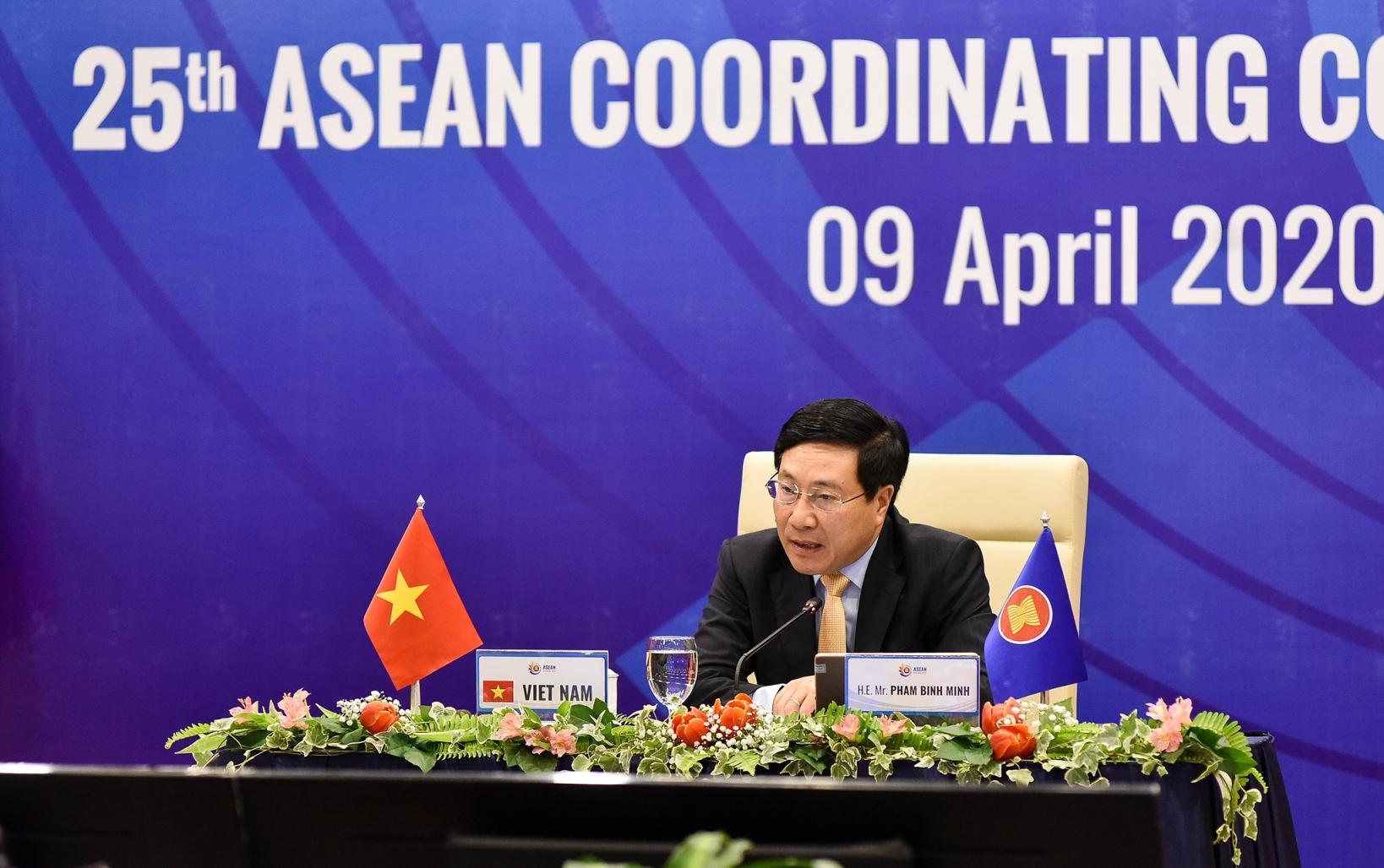 Quyết tâm hợp tác khu vực, quốc tế trong chống dịch COVID-19