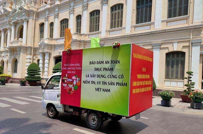 TP Hồ Chí Minh triển khai tháng hành động vì an toàn thực phẩm