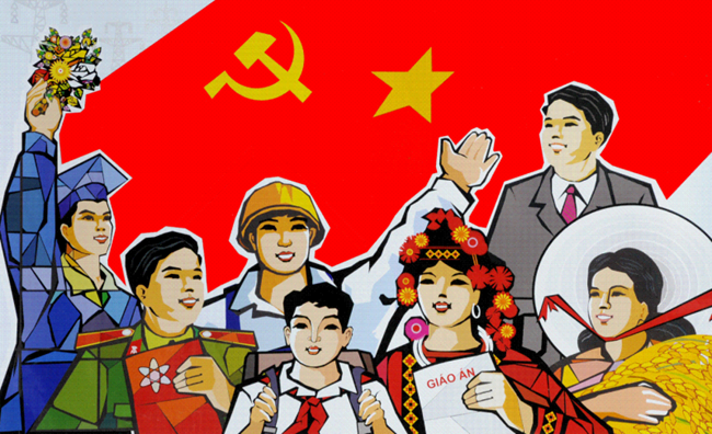 Thi sáng tác tranh cổ động chào mừng Cách mạng tháng Tám và Quốc khánh 2 9