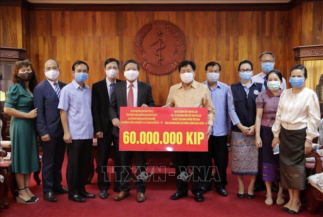 Việt Nam hỗ trợ Lào phòng, chống dịch bệnh COVID-19