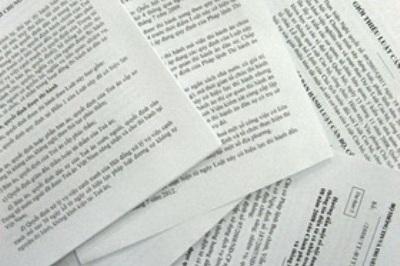 Nâng cao chất lượng xây dựng văn bản quy phạm pháp luật về lĩnh vực TN MT