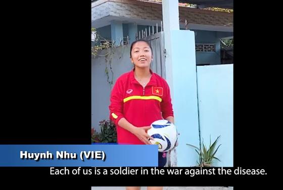 Huỳnh Như tham gia chiến dịch nâng cao nhận thức phòng, chống dịch COVID-19