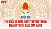 Hướng dẫn Cuộc thi tìm hiểu 90 năm truyền thống Ngành Tuyên giáo của Đảng