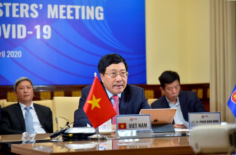 ASEAN - Hoa Kỳ Trực tuyến về hợp tác ứng phó dịch bệnh COVID-19