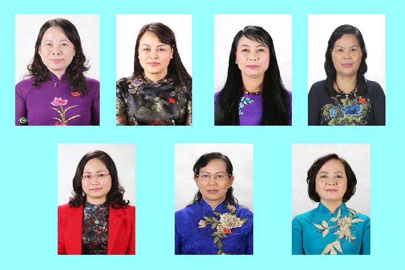 [Infographic] Chân dung các nữ Bí thư Tỉnh ủy hiện nay