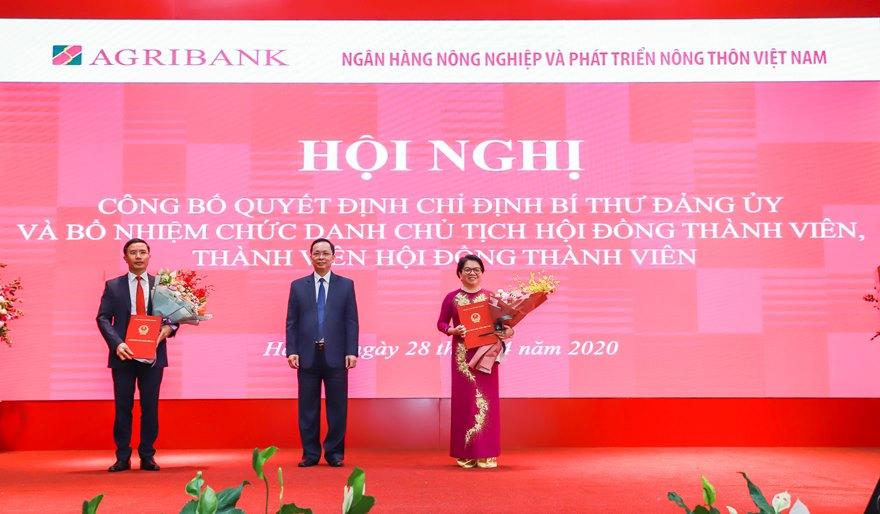 Chánh Văn phòng Ngân hàng Nhà nước Việt Nam giữ chức Bí thư Đảng ủy, Chủ tịch Hội đồng Thành viên Agribank