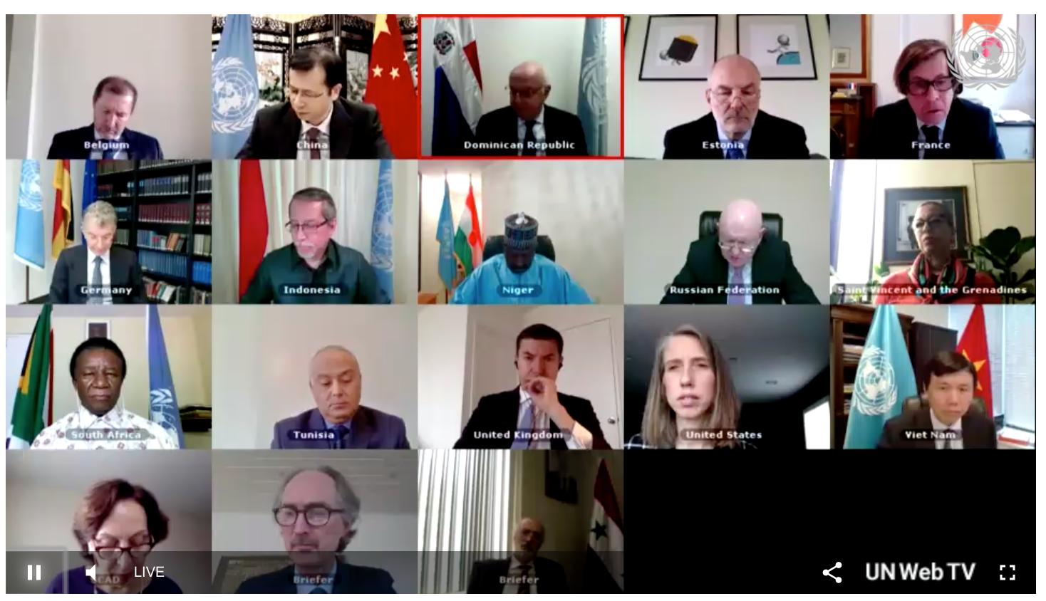 COVID-19 ảnh hưởng tiêu cực đến các nỗ lực chính trị và nhân đạo tại Syria