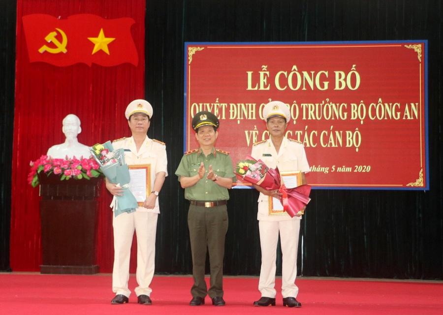 Đại tá Phan Công Bình giữ chức Giám đốc Công an tỉnh Quảng Ngãi