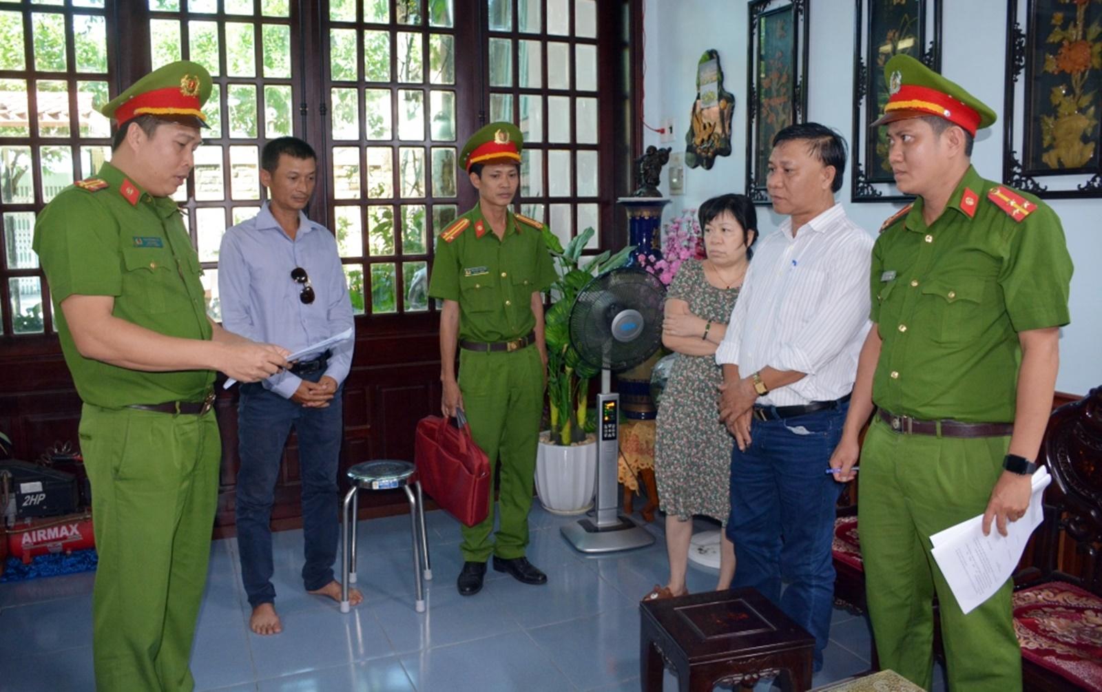 Khởi tố 2 cán bộ Chi cục Thủy sản tỉnh Quảng Nam