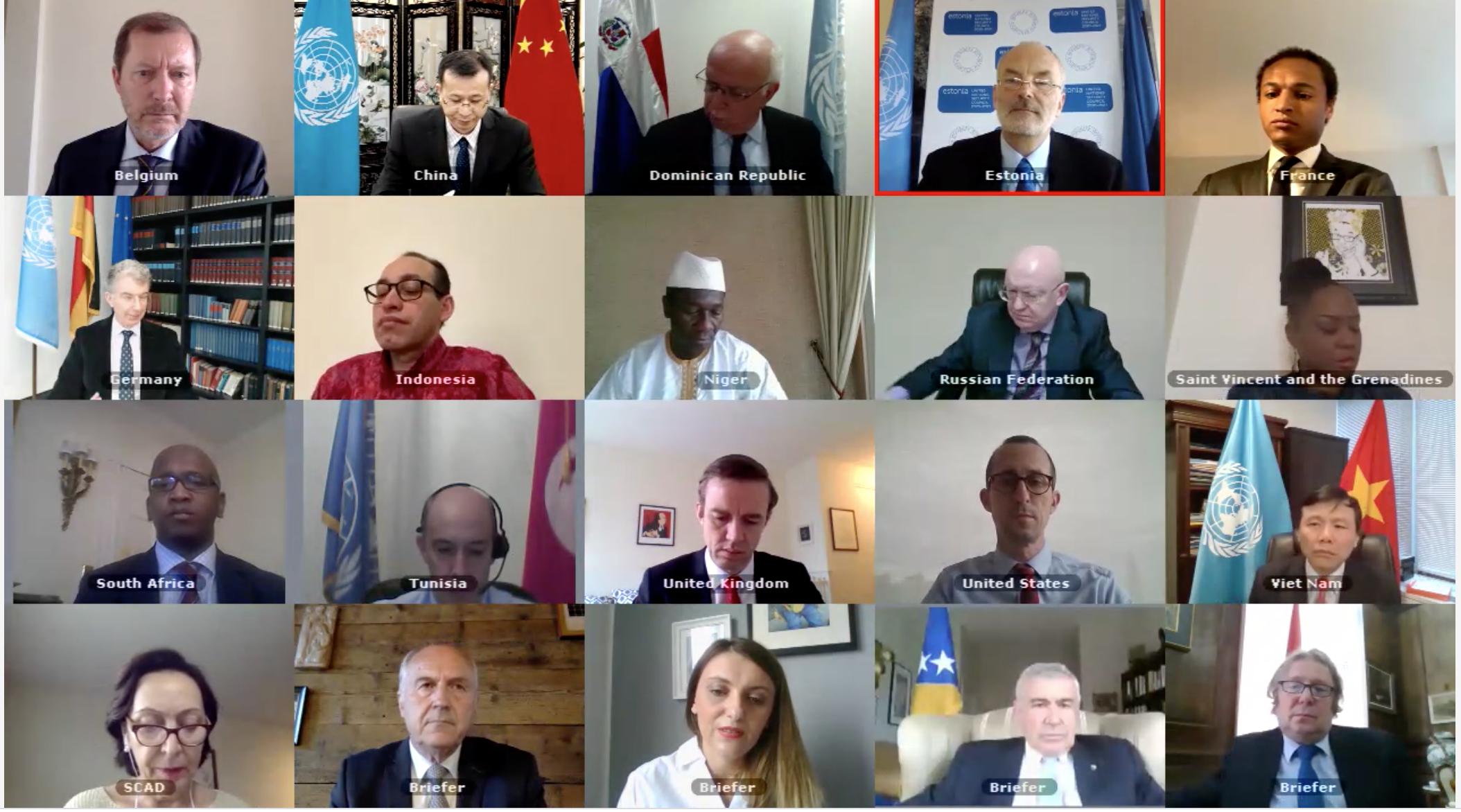 Hội đồng Bảo an LHQ thảo luận về Bosnia và Herzegovina
