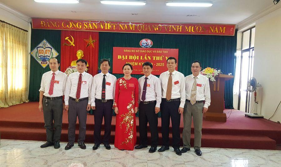 Đại hội Đảng bộ Sở GD ĐT Hà Nam thành công tốt đẹp