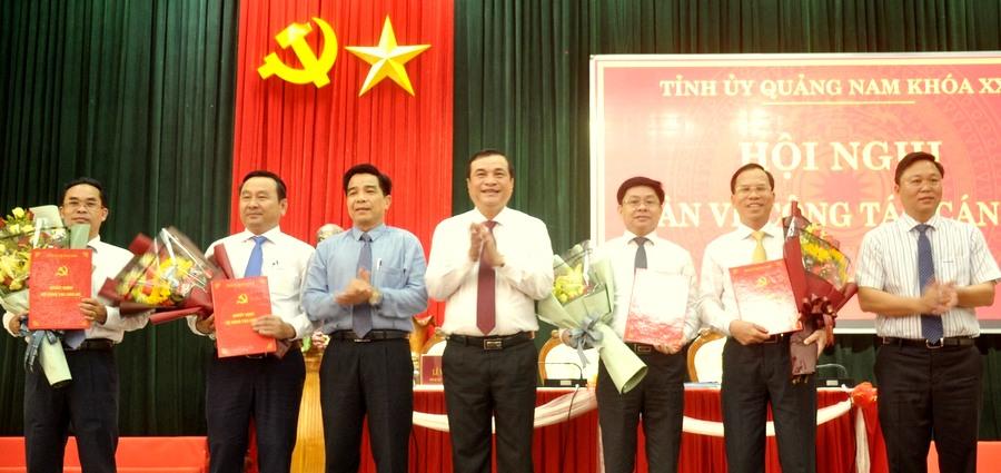 Quảng Nam bổ sung một số nhân sự chủ chốt