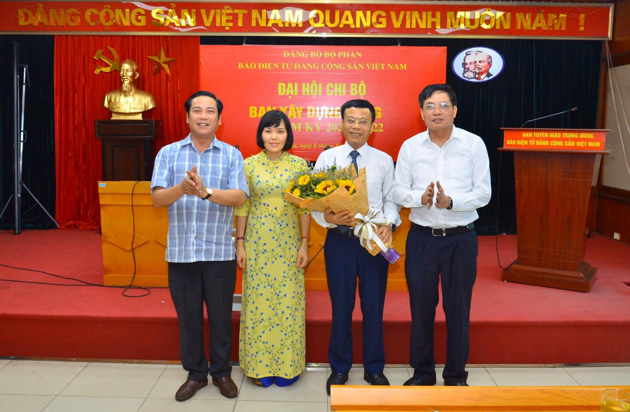 Tổ chức thành công đại hội điểm Đảng bộ bộ phận Báo điện tử ĐCSVN