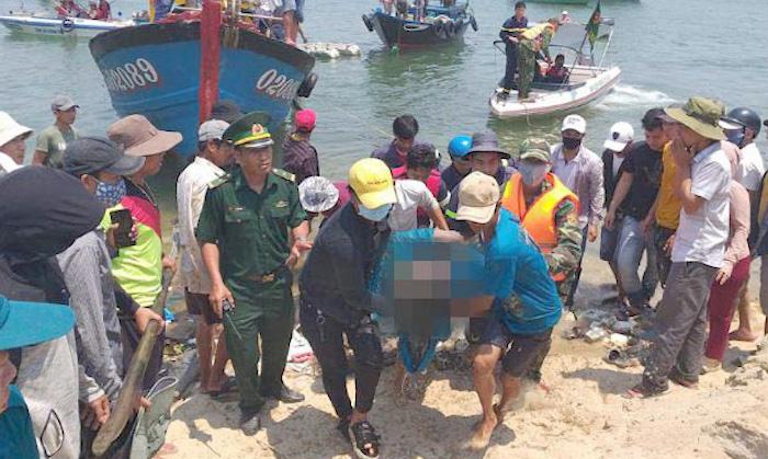 Cả 5 thi thể vụ lật thuyền ở Quảng Nam đã được tìm thấy