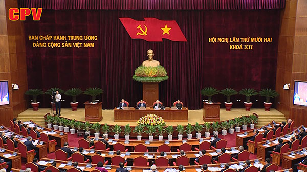 Khai mạc Hội nghị lần thứ 12 Ban Chấp hành Trung ương Đảng khóa XII